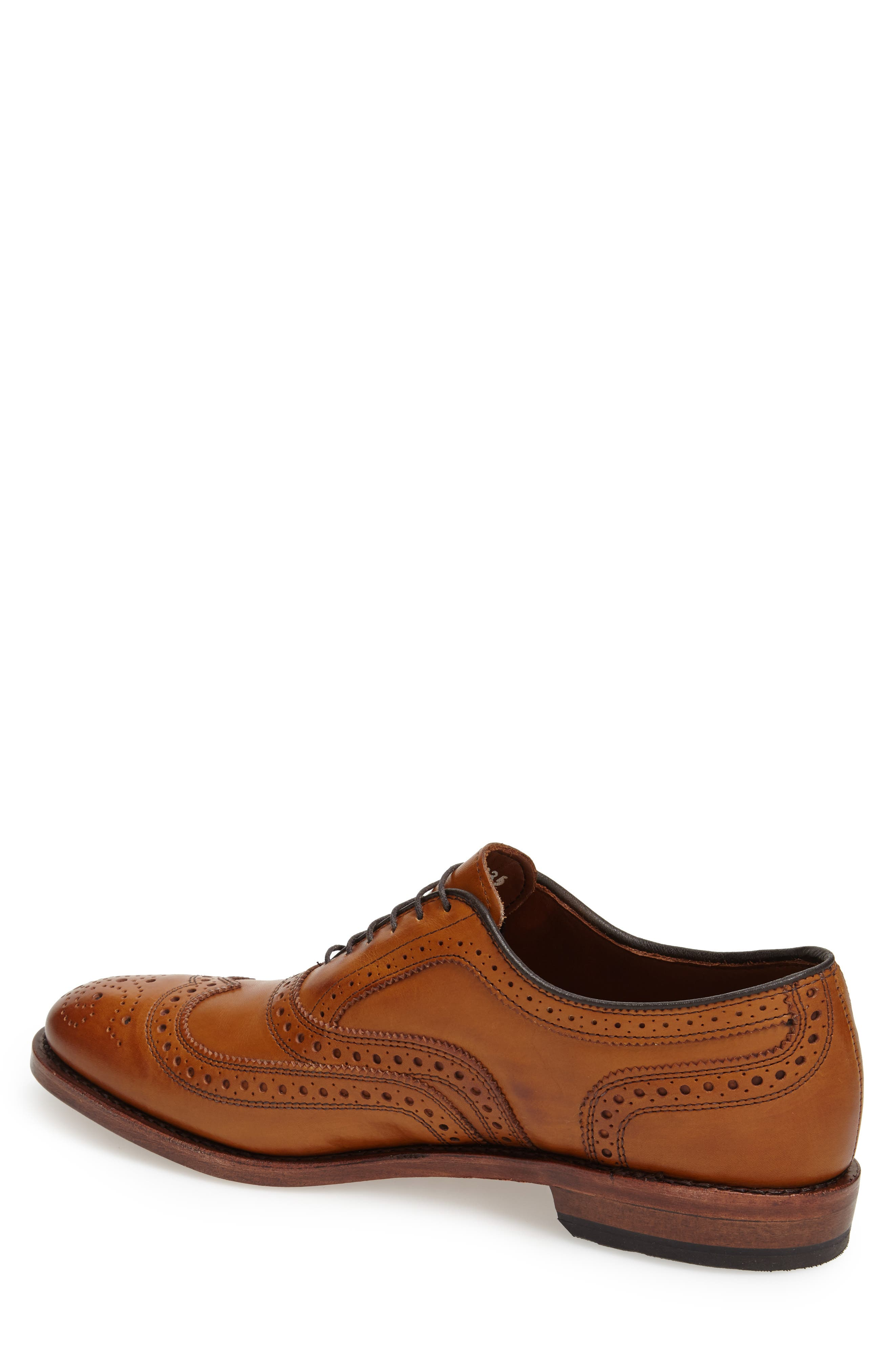 ,                             'McAllister' Wingtip,                             Alternate thumbnail 4, color,                             WALNUT LEATHER
