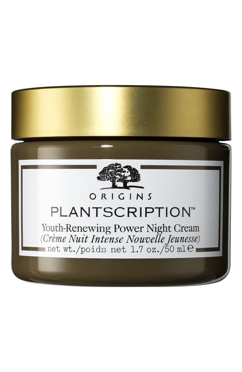 ORIGINS Plantscriptions<sup>™</sup> Youth-Renewing Power Night Cream, Main, color, 000