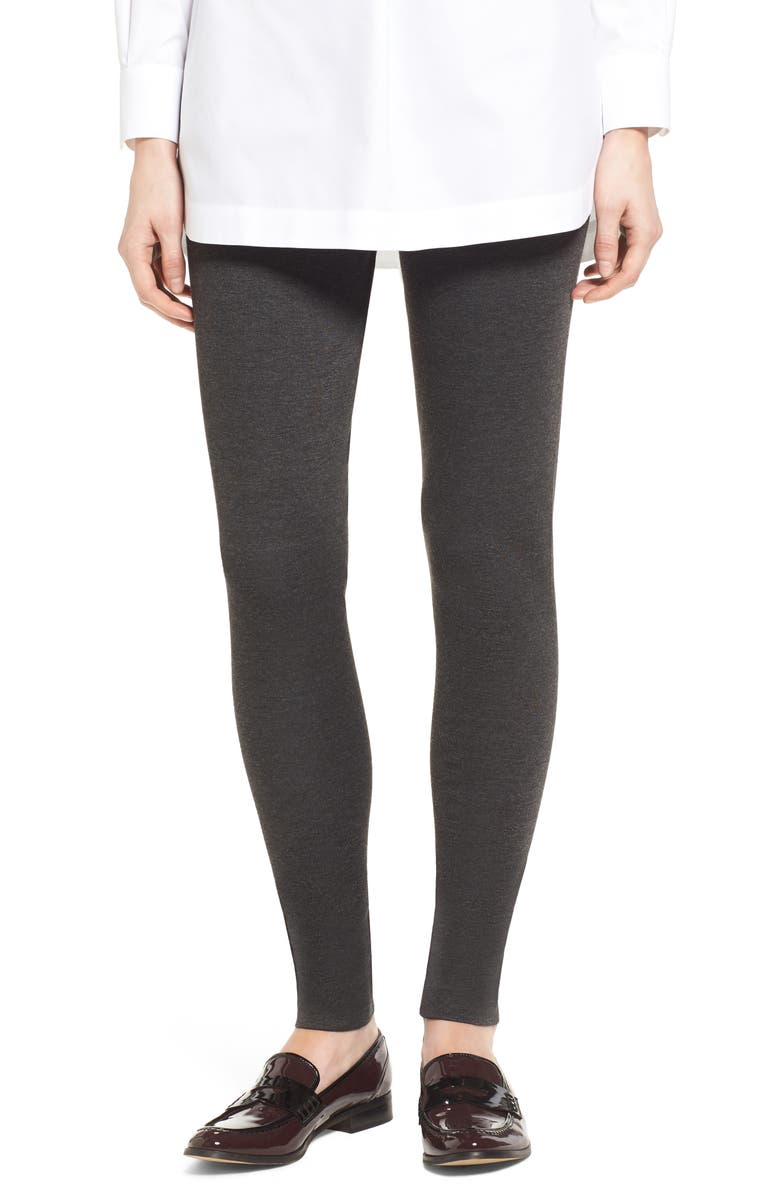 TWO BY VINCE CAMUTO Leggings, Main, color, DARK HEATHER GREY