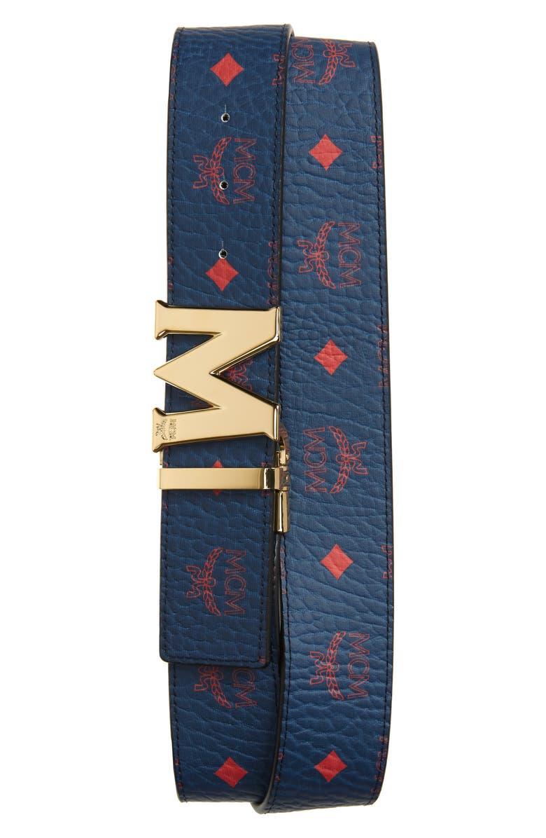 MCM Claus Reversible Belt, Main, color, 400