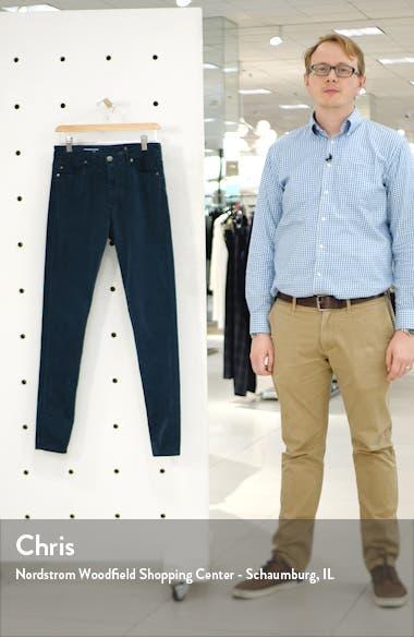 The Farrah High Waist Velvet Jeans, sales video thumbnail