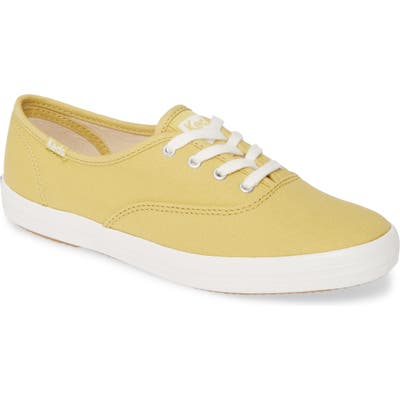 Keds Champion Solid Sneaker, Yellow