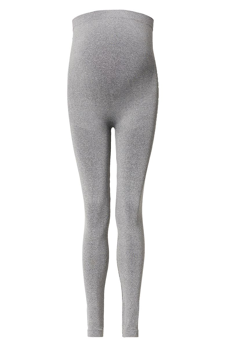 NOPPIES Cara Seamless Maternity Leggings, Main, color, GREY MELANGE