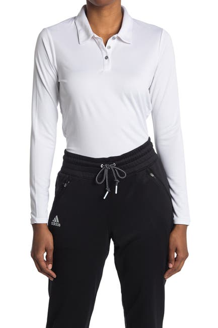 Image of Adidas Golf Tournament Long Sleeve Polo