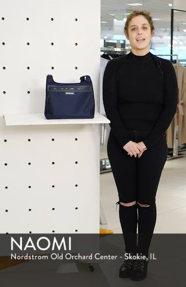 'Le Pliage Neo' Nylon Crossbody Bag, sales video thumbnail