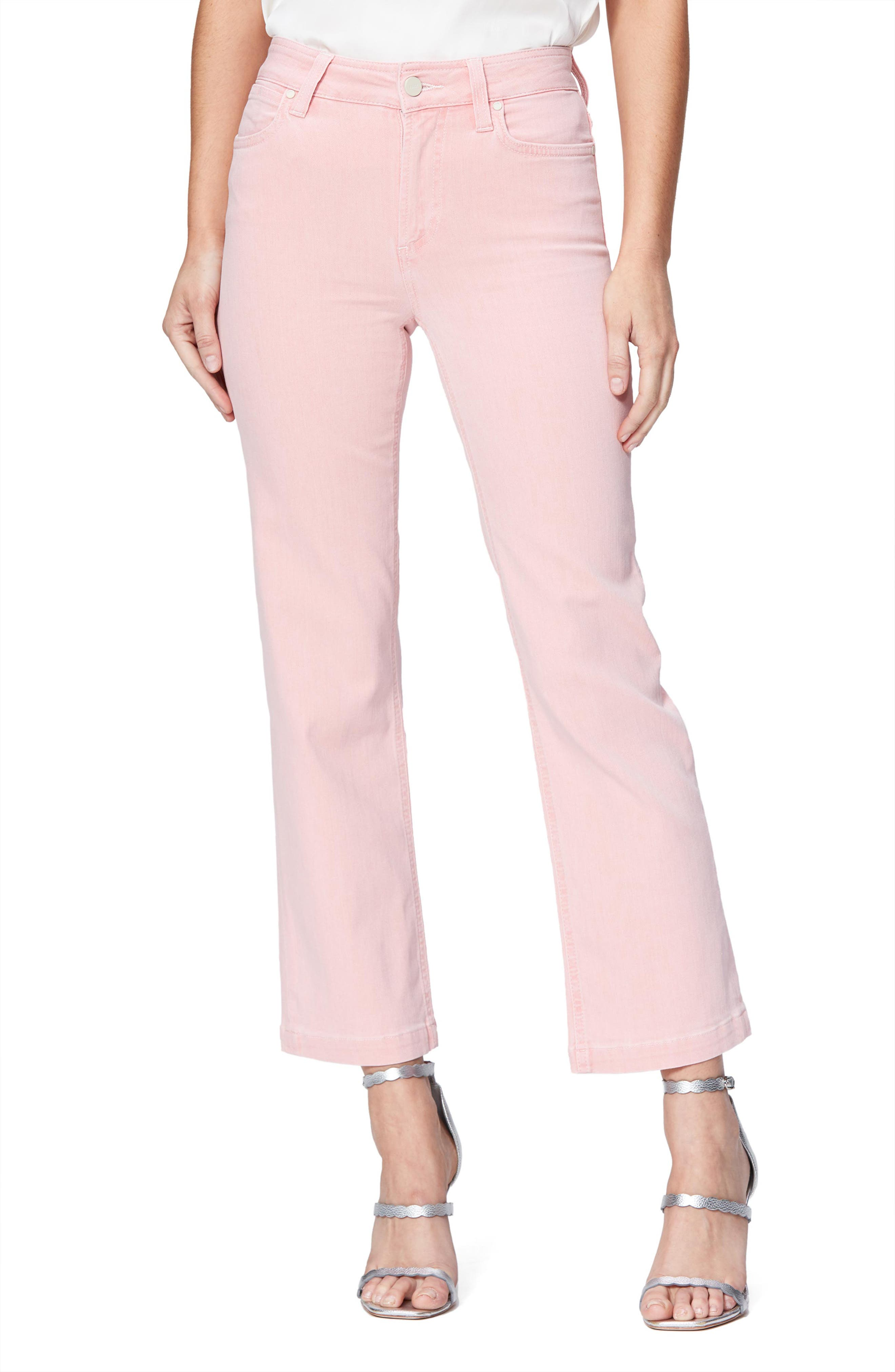 Image of PAIGE Atley High Waist Ankle Flare Jeans