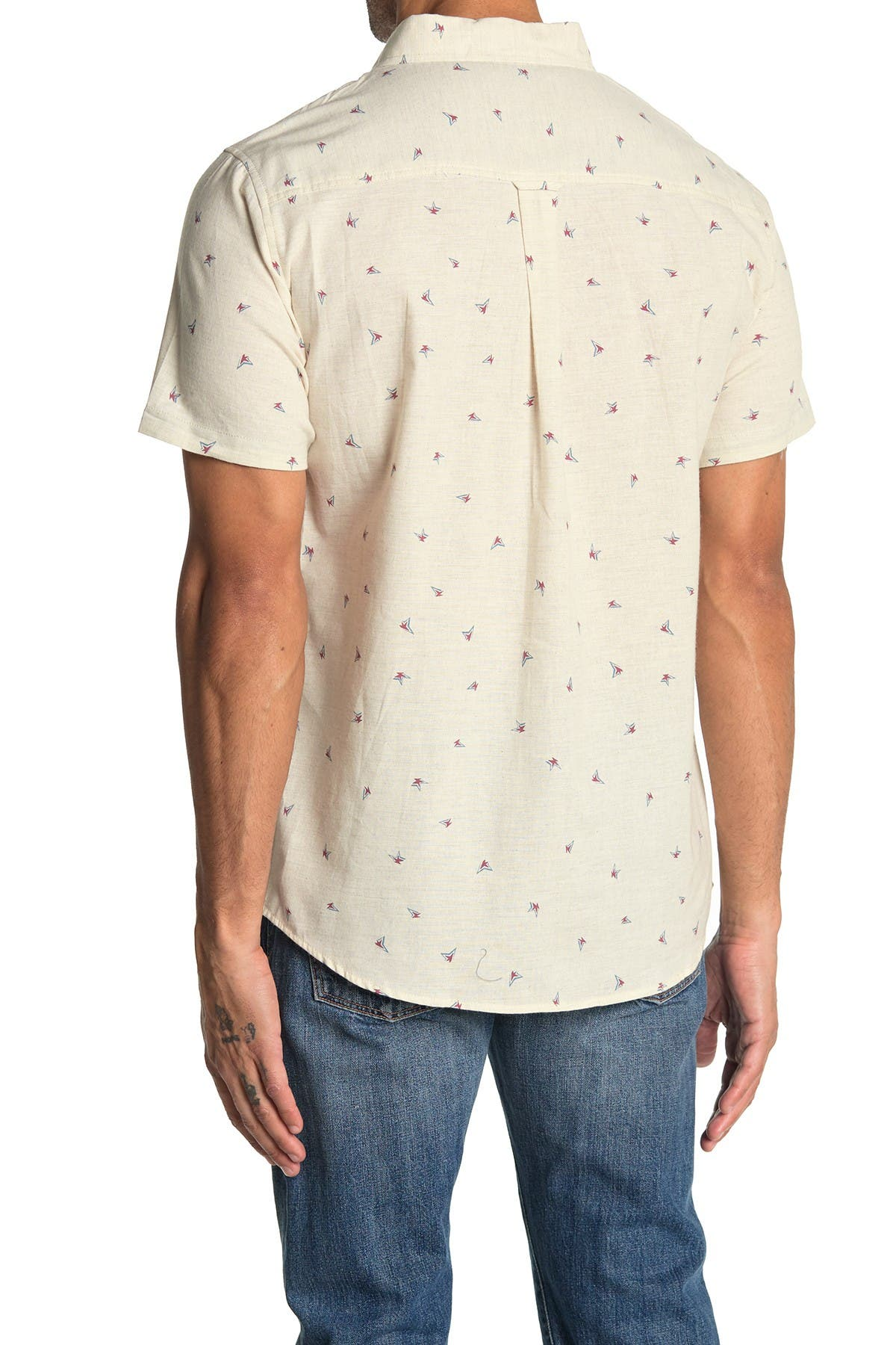 Image of Sovereign Code Razzle Printed Regular Fit Shirt