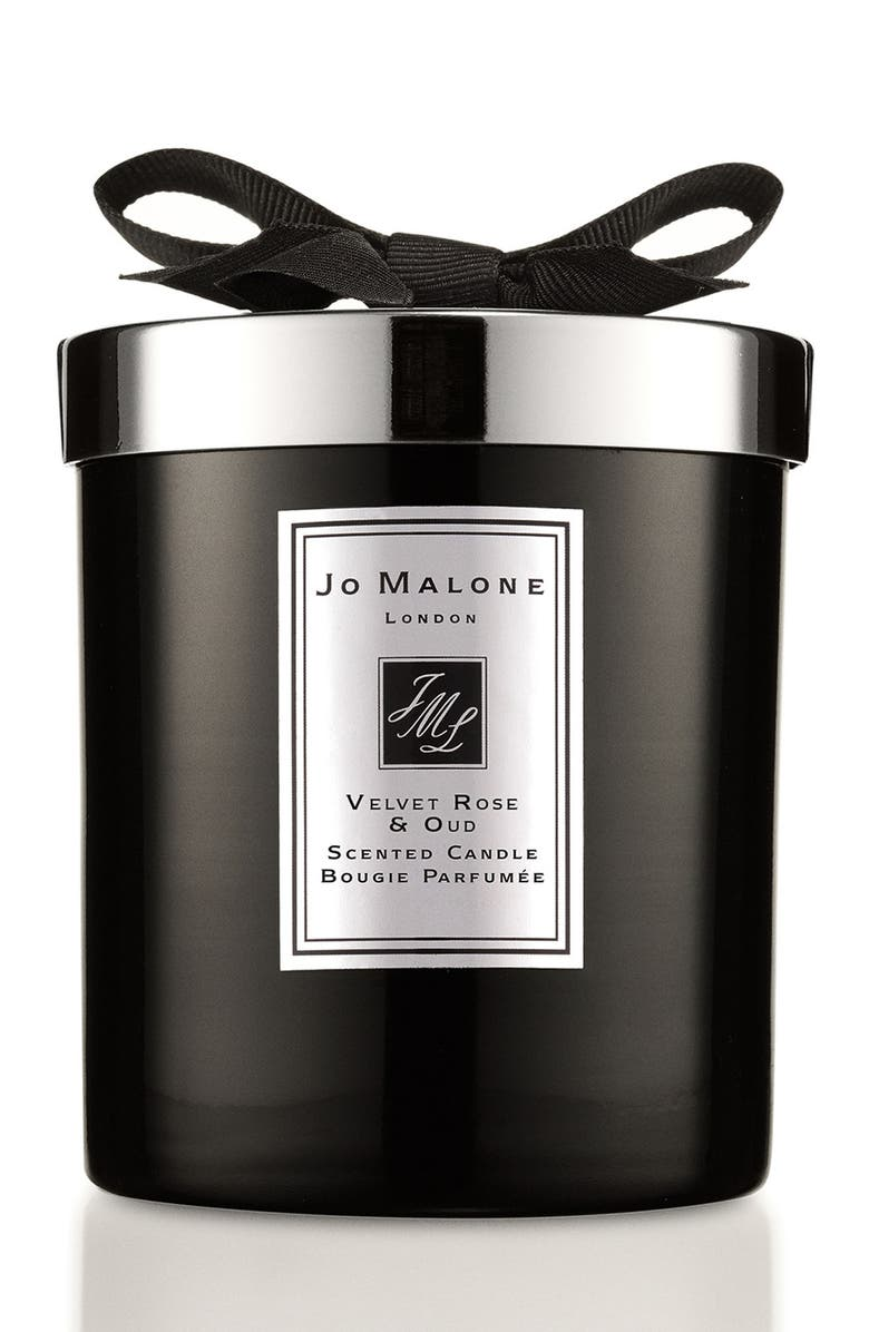 JO MALONE LONDON<SUP>™</SUP> Jo Malone<sup>™</sup> Velvet Rose & Oud Home Candle, Main, color, NO COLOR