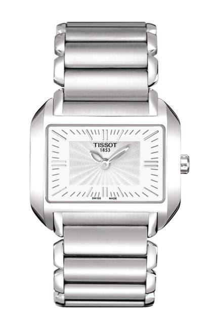 Image of Tissot Women's T-Wave Swiss Quartz Bracelet Watch, 20.2mm