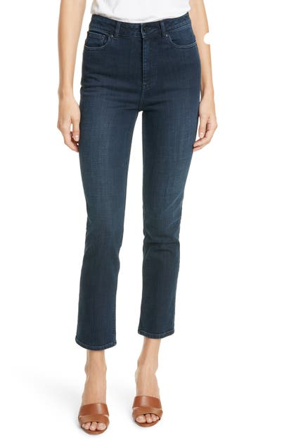 La Vie Rebecca Taylor Jeans CLEMENCE CROP BOOTCUT JEANS