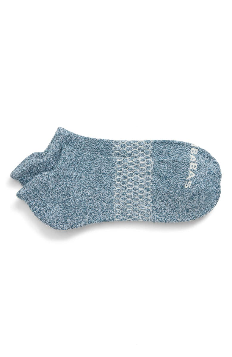 BOMBAS Marled Ankle Socks, Main, color, 398