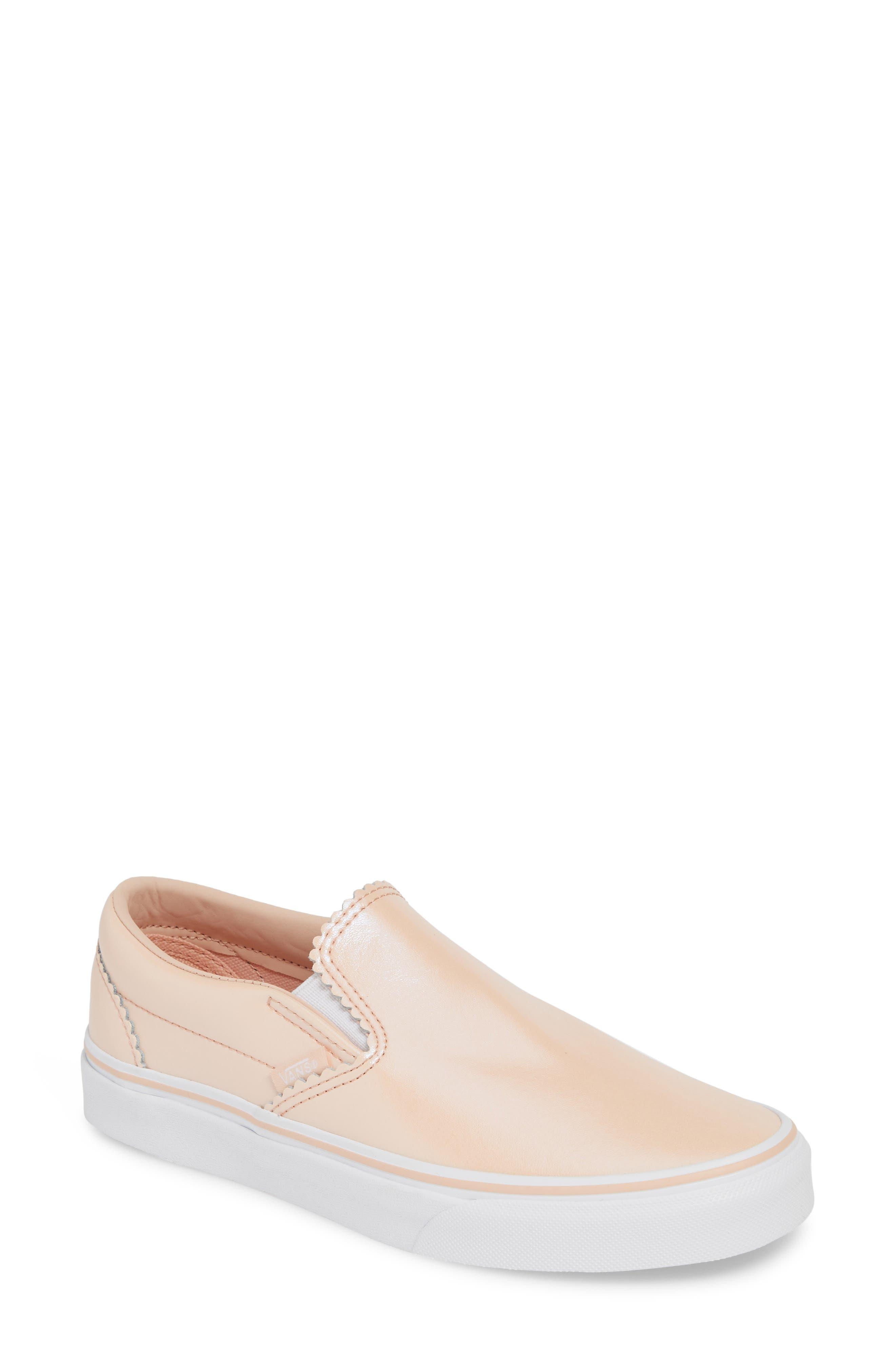 Vans Classic Pearl Slip-On Sneaker- Pink