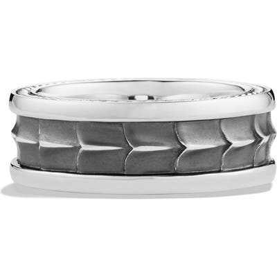 David Yurman Armory Band Ring