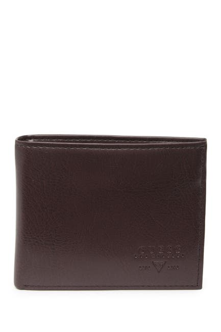 Image of GUESS Sedona Double Fold RFID Wallet