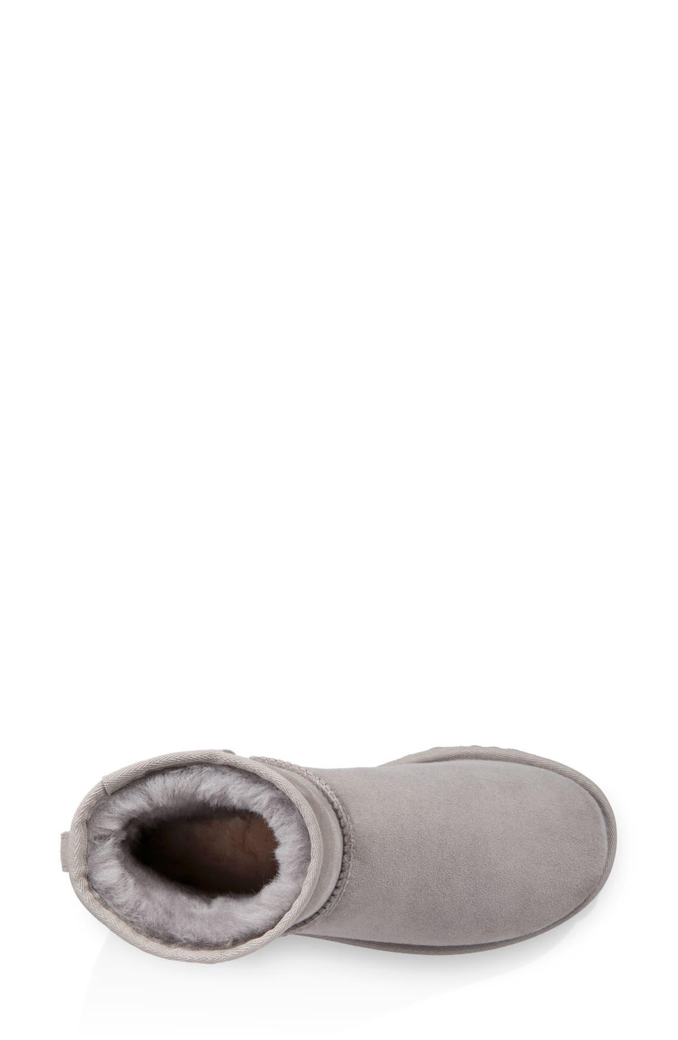 ,                             Classic Mini II Genuine Shearling Lined Boot,                             Alternate thumbnail 6, color,                             024