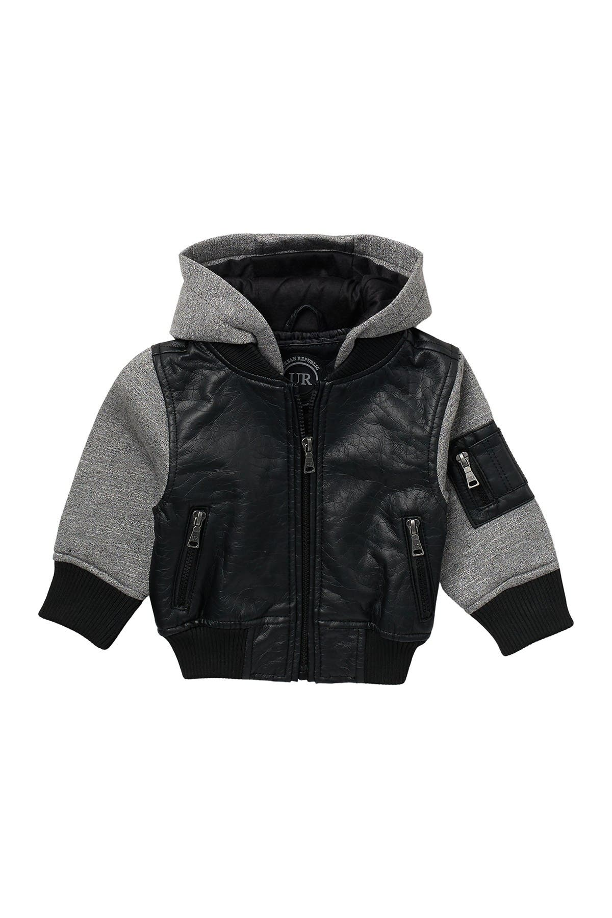 Image of Urban Republic Faux Leather Bomber
