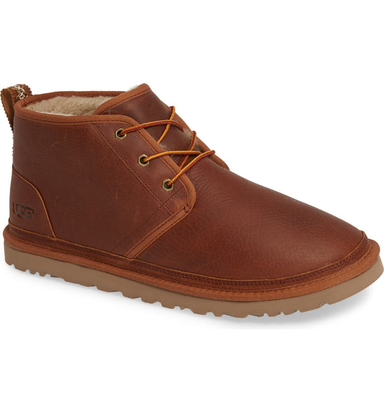UGG<SUP>®</SUP> Neumel Chukka Boot, Main, color, CHESTNUT