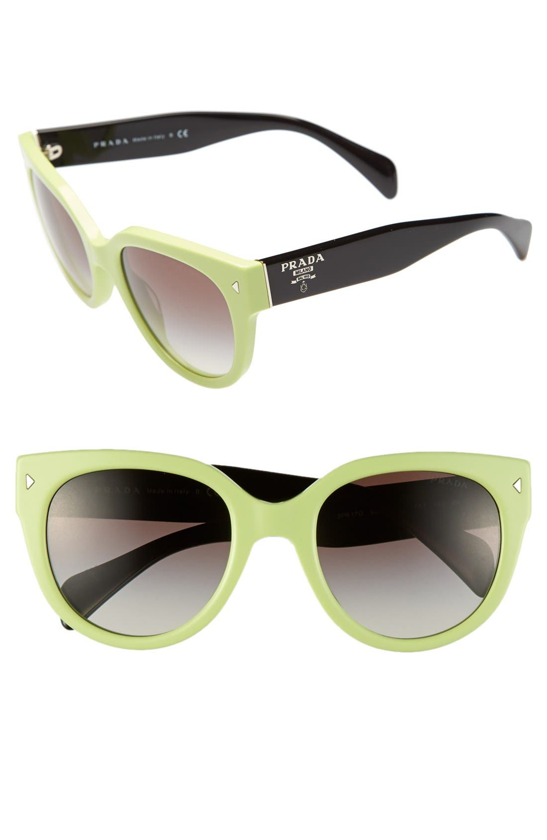 ,                             54mm Cat Eye Sunglasses,                             Main thumbnail 11, color,                             310