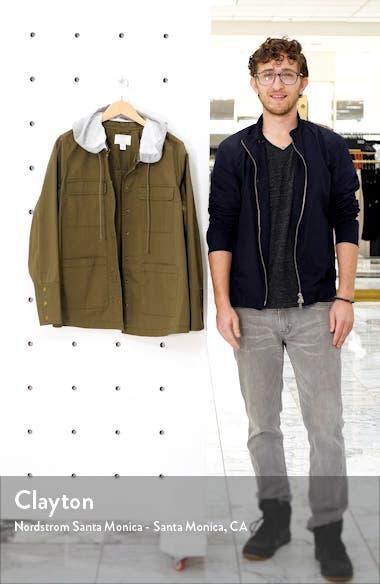 Knit Hood Utility Jacket, sales video thumbnail