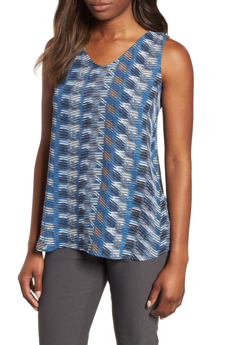 NIC+ZOE Easy Street Tank Top, Main, color, MULTI