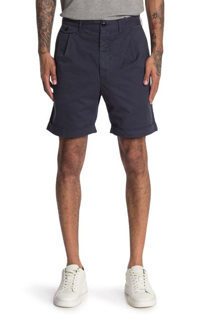 Image of ALEX MILL Pleated Chino Shorts