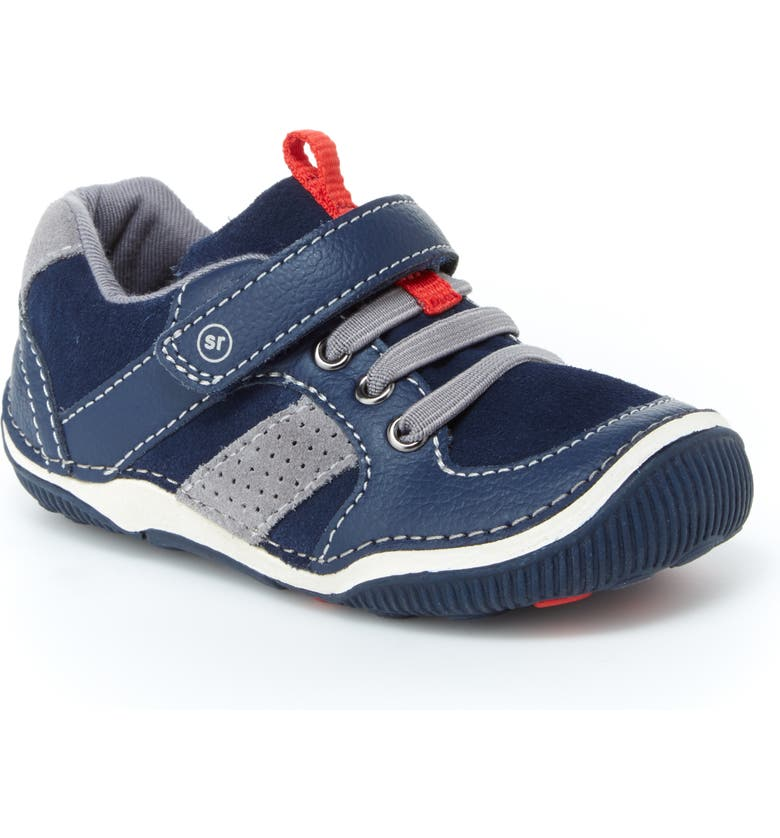 STRIDE RITE 'Wes' Sneaker, Main, color, NAVY