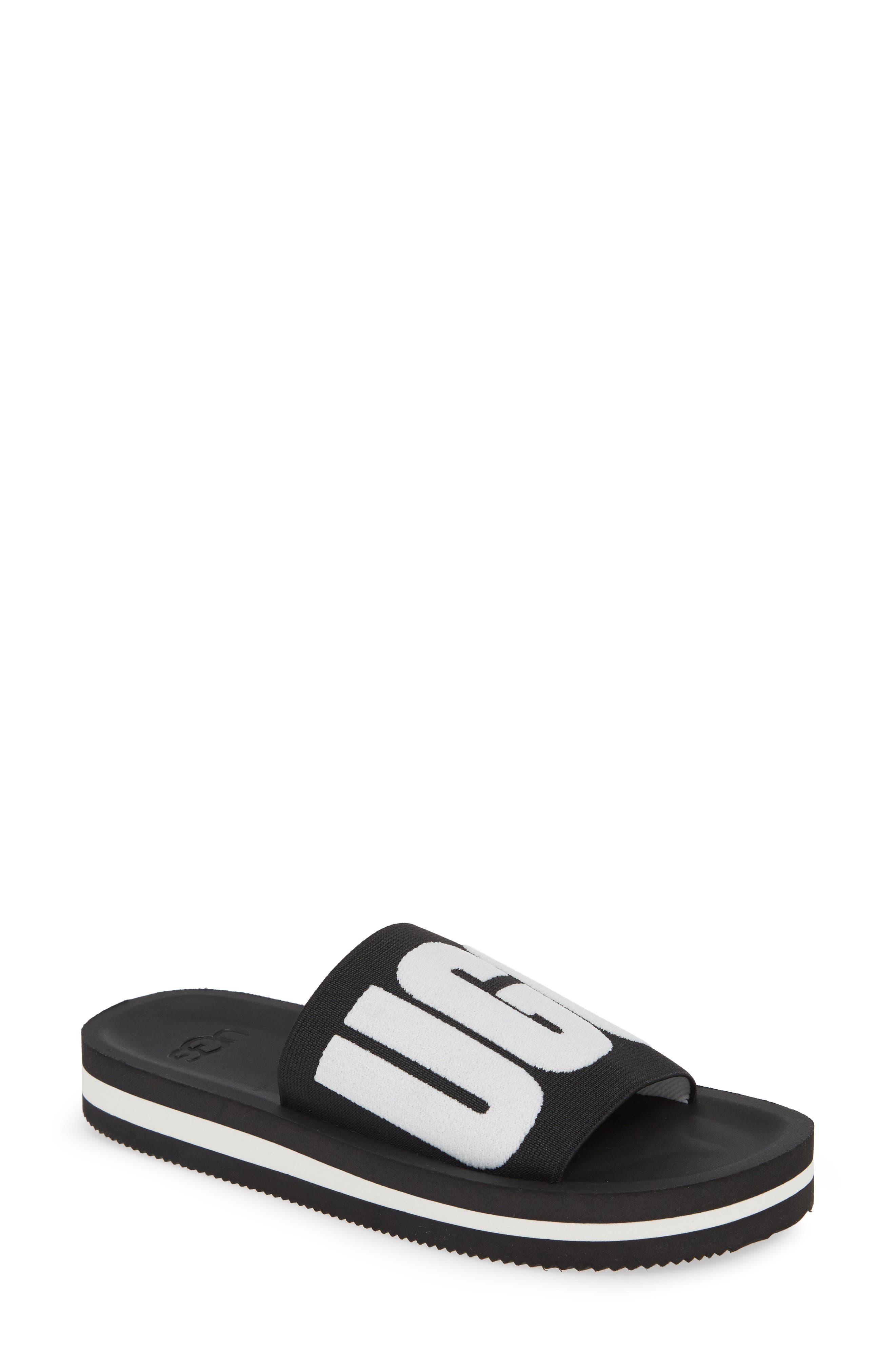 UGG® Zuma Logo Slide Sandal (Women