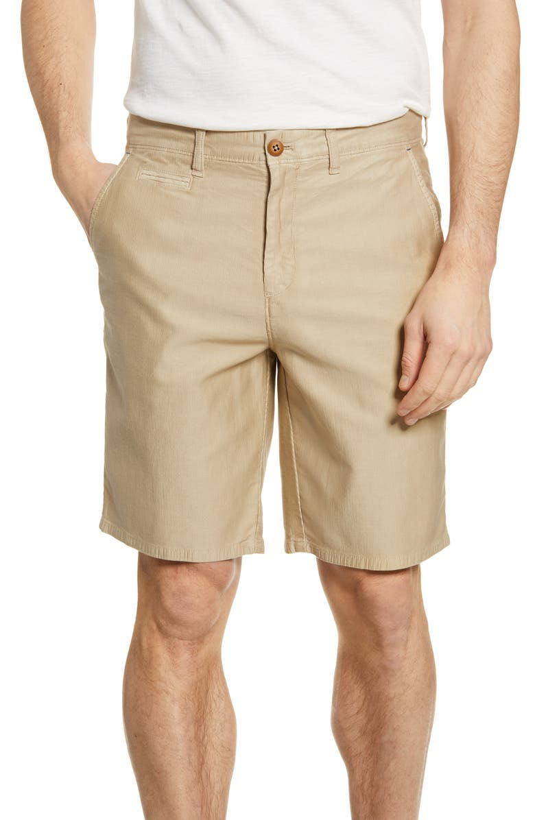 JOHNNIE-O Bombay Pima Cotton Flat Front Shorts, Main, color, 250