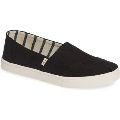Toms Alpargata Slip-On, Black