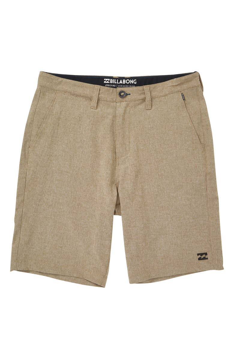 BILLABONG Crossfire X Submersible Shorts, Main, color, KHAKI