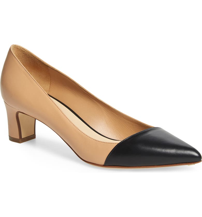 FRANCESCO RUSSO Franco Russo Cap Toe Pump, Main, color, 250