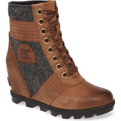 Sorel Lexie Wedge Boot, Brown