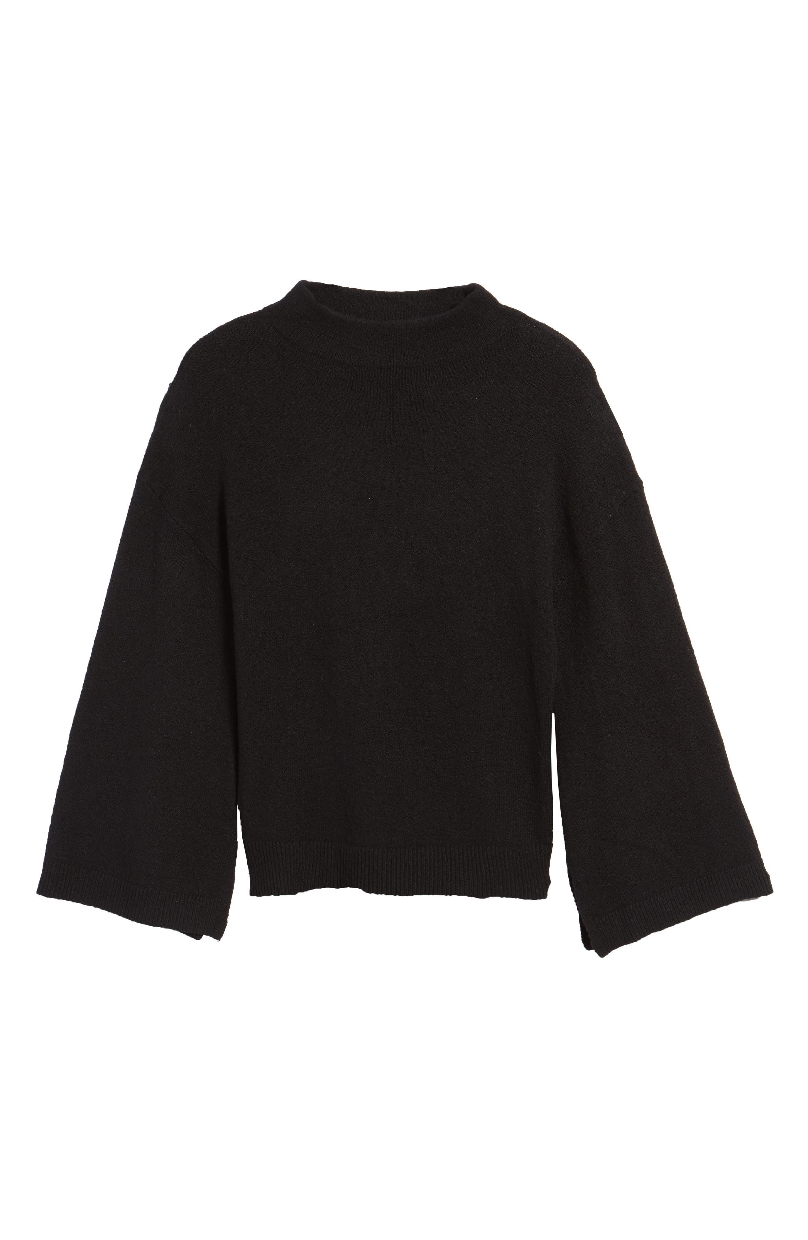 ,                             Dolman Sleeve Sweater,                             Alternate thumbnail 6, color,                             001