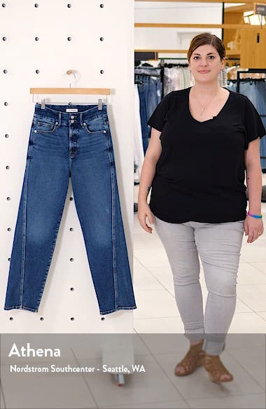 Good Straight Twisted Seam Jeans, sales video thumbnail