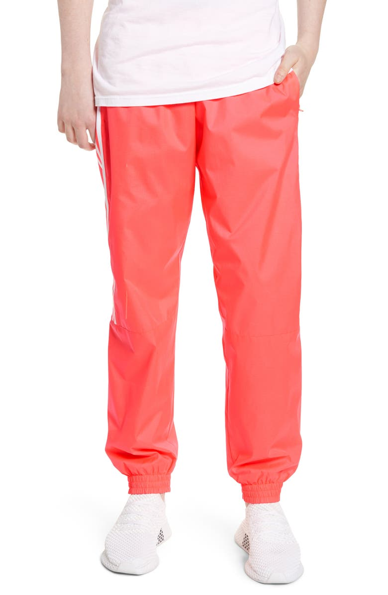 ADIDAS ORIGINALS Lock Up Track Pants, Main, color, FLASH RED