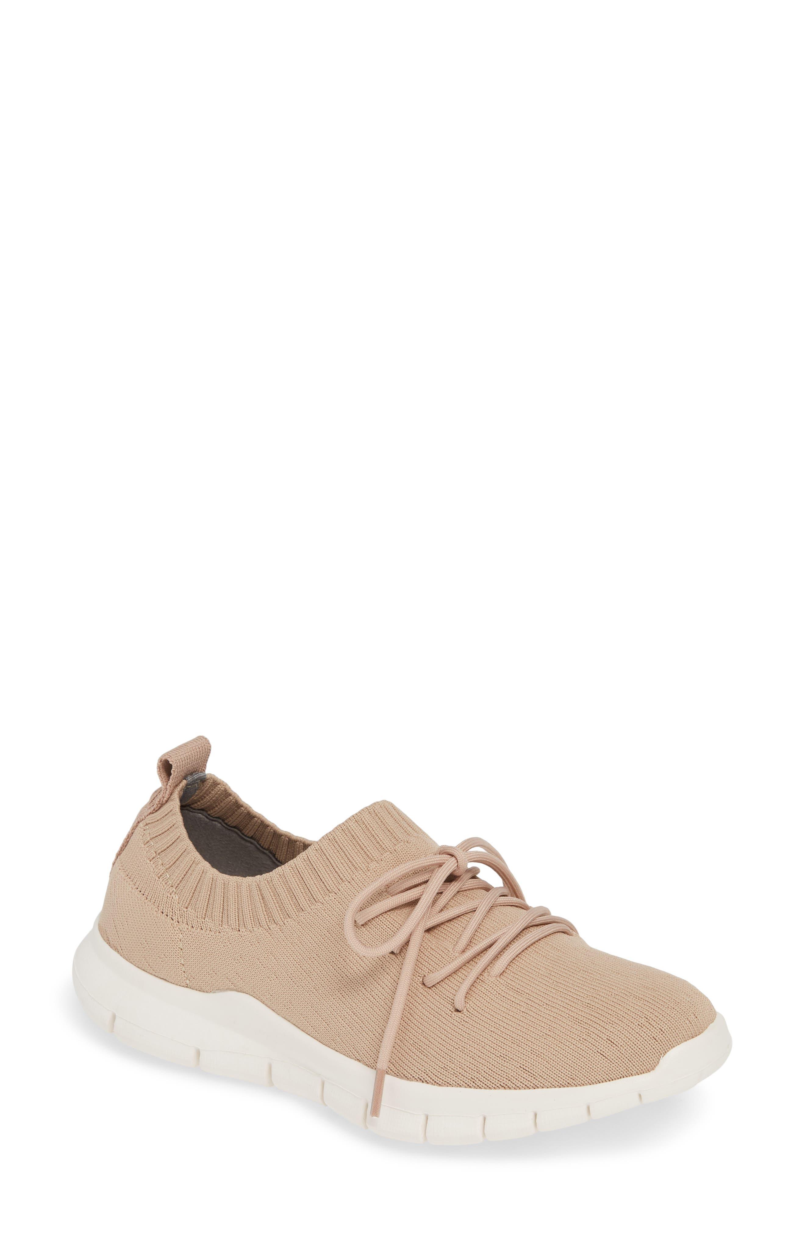 Bernie Mev Plush Sneaker, Pink