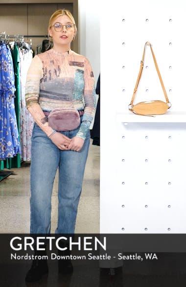 Mini Bree Leather Belt Bag, sales video thumbnail