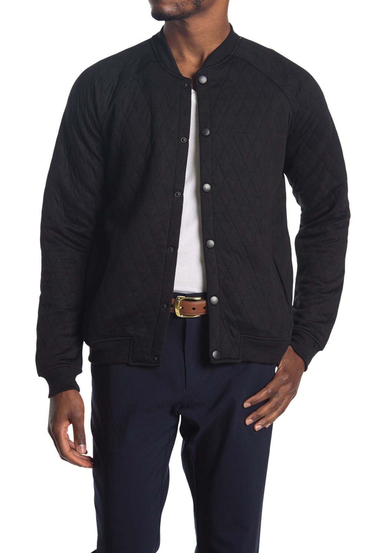 Image of Sovereign Code Princeton Quilted Bomber Jacket