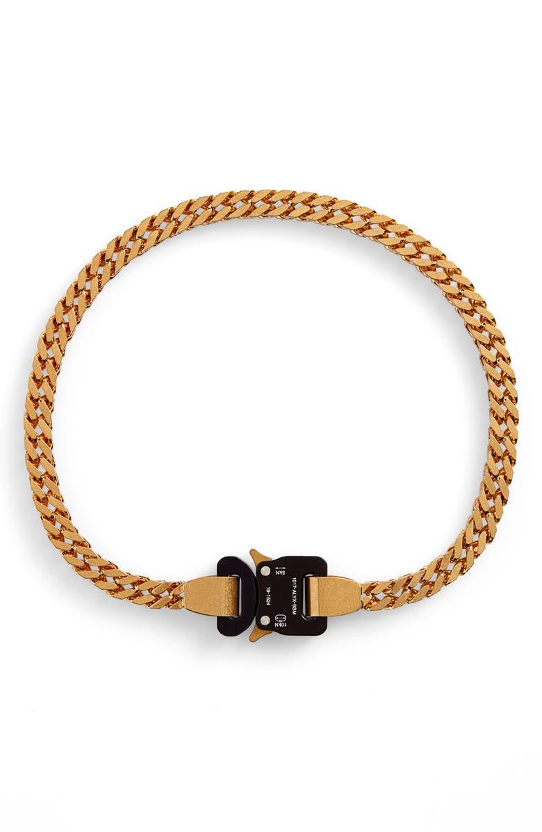 1017 ALYX 9SM River Link Necklace, Main, color, GOLD