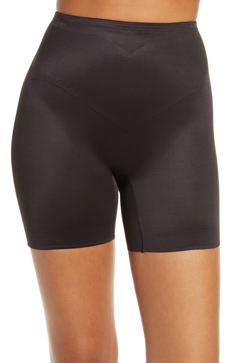 TC AdJust Perfect Waistline Thigh Slimmer, Main, color, BLACK