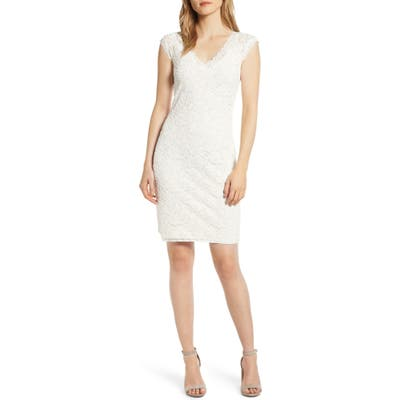 Rosemunde Delicia V-Neck Dress, Ivory