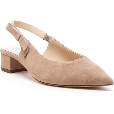 Sole Society Maelie Bow Slingback Pump- Brown