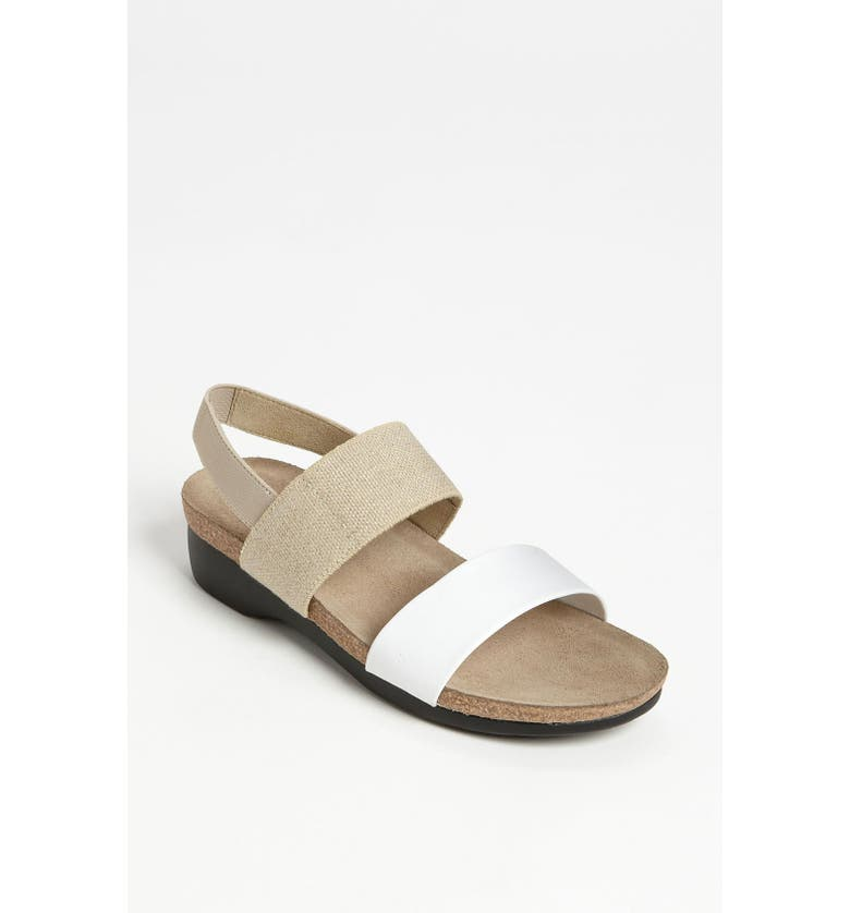 MUNRO 'Pisces' Sandal, Main, color, WHITE