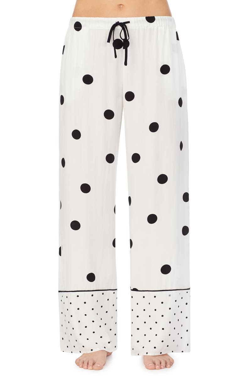 REFINERY29 Elsa Woven Pajama Pants, Main, color, 001