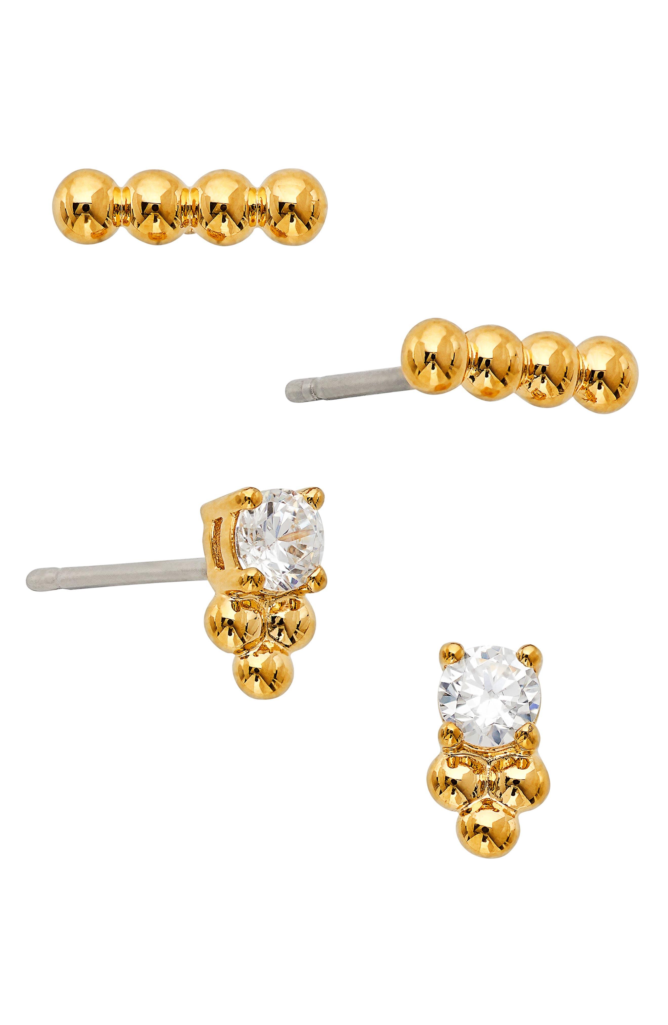 Lala Set Of 4 Stud Earrings