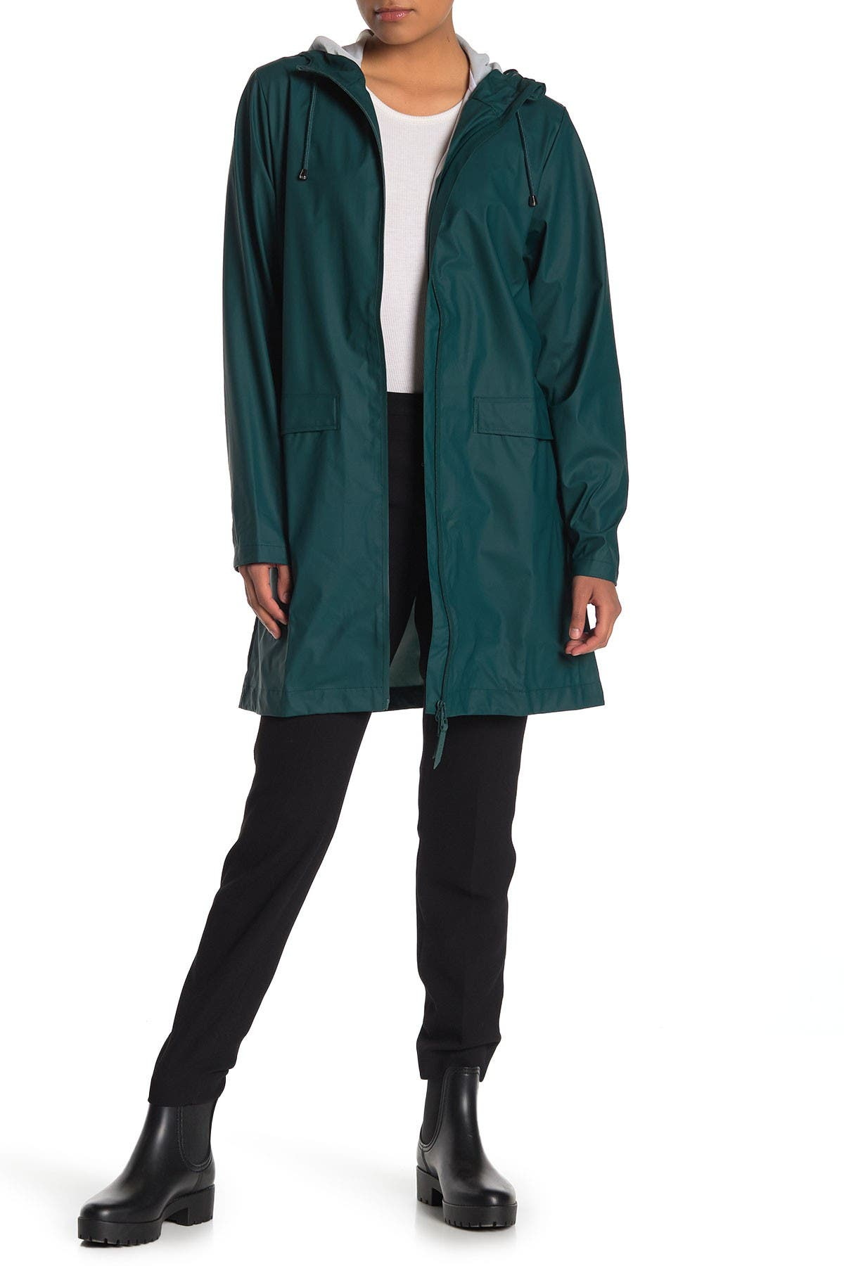 Image of Rains Hooded Waterproof Jacket