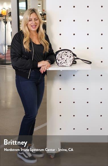 Shelby Geniune Calf Hair Crossbody Bag, sales video thumbnail