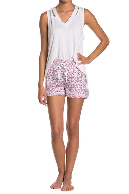 Image of Vera Bradley Piped Flute Shorts