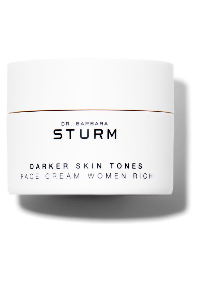 DR. BARBARA STURM Darker Skin Tones Face Cream Rich, Main, color, NO COLOR