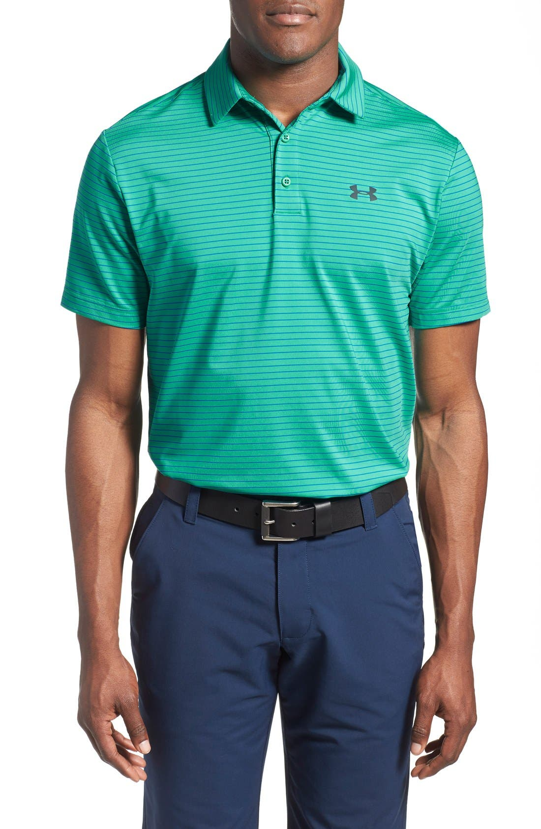 ,                             'Playoff' Loose Fit Short Sleeve Polo,                             Main thumbnail 187, color,                             352